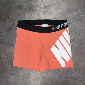 🔵Nike Pro Spandex Shorts